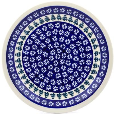 Polish Pottery 11-inch Plate   Boleslawiec Stoneware   Polmedia H5919I