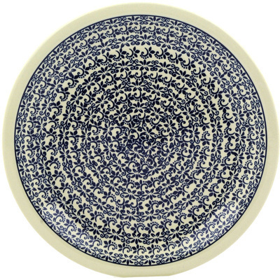 Polish Pottery 11-inch Plate | Boleslawiec Stoneware | Polmedia H6913E