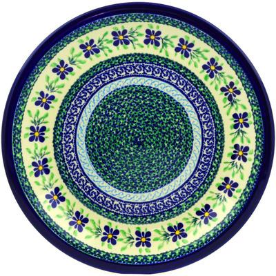 Polish Pottery 11-inch Plate | Boleslawiec Stoneware | Polmedia H0120E