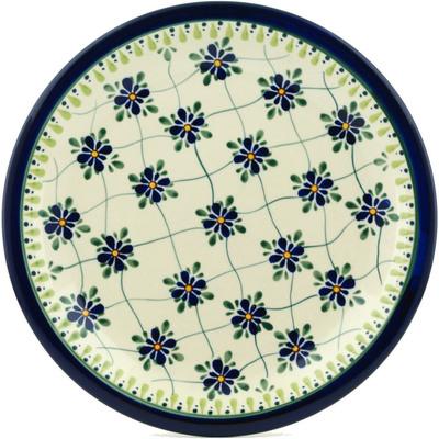 Polish Pottery 11-inch Plate | Boleslawiec Stoneware | Polmedia H9984B