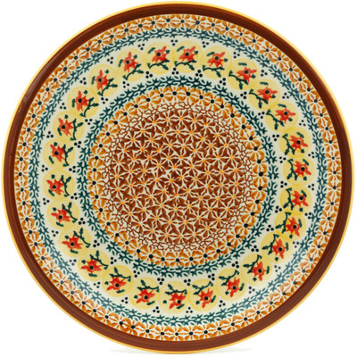Polish Pottery 11-inch Plate | Boleslawiec Stoneware | Polmedia H0805B