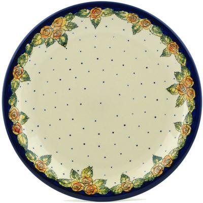 Polish Pottery 11-inch Plate | Boleslawiec Stoneware | Polmedia H9986B