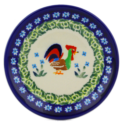 Polish Pottery 5-inch Plate | Boleslawiec Stoneware | Polmedia H8067I