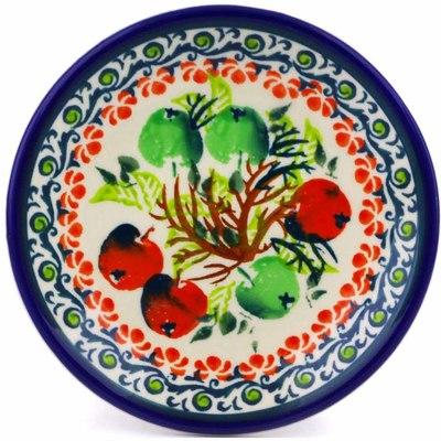 Polish Pottery 5-inch Plate | Boleslawiec Stoneware | Polmedia H8068I