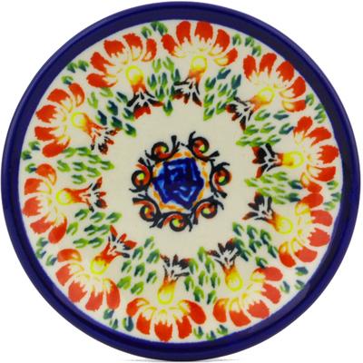 Polish Pottery 5-inch Plate | Boleslawiec Stoneware | Polmedia H8069I