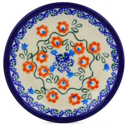 Polish Pottery 5-inch Plate | Boleslawiec Stoneware | Polmedia H8071I