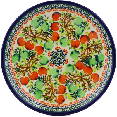 Polish Pottery 8-inch Plate | Boleslawiec Stoneware | Polmedia H8073I