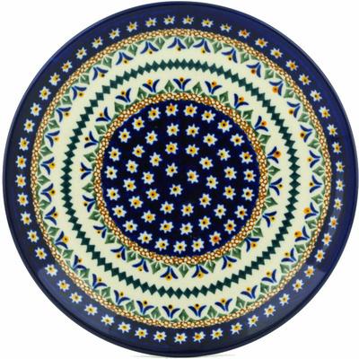 Polish Pottery 7-inch Plate | Boleslawiec Stoneware | Polmedia H0658A