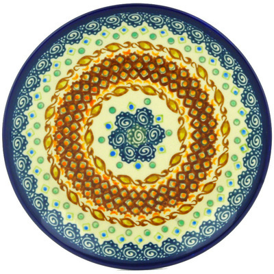 Polish Pottery 7-inch Plate | Boleslawiec Stoneware | Polmedia H0664A