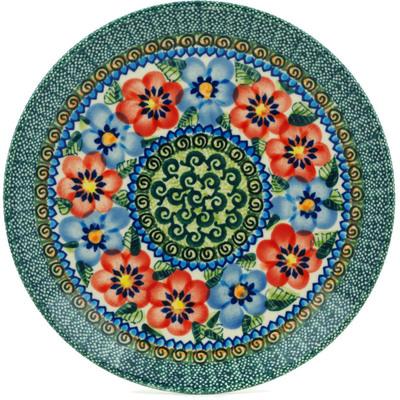 Polish Pottery 7-inch Plate | Boleslawiec Stoneware | Polmedia H0672A