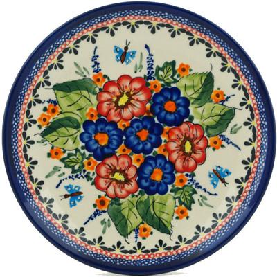 Polish Pottery 7-inch Plate | Boleslawiec Stoneware | Polmedia H8823B