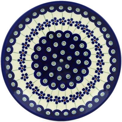 Polish Pottery 7-inch Plate | Boleslawiec Stoneware | Polmedia H0680A
