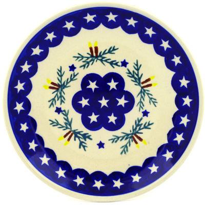 Polish Pottery 7-inch Plate | Boleslawiec Stoneware | Polmedia H3170D