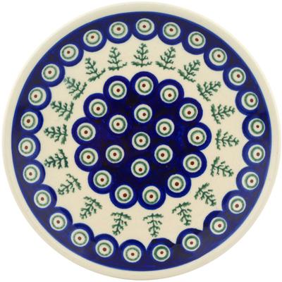 Polish Pottery 7-inch Plate | Boleslawiec Stoneware | Polmedia H4252C