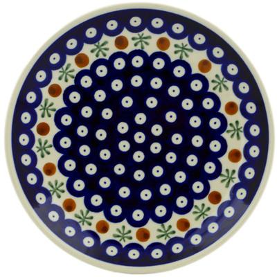 Polish Pottery 7-inch Plate | Boleslawiec Stoneware | Polmedia H0709A