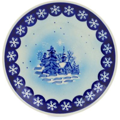 Polish Pottery 7-inch Plate | Boleslawiec Stoneware | Polmedia H0062C