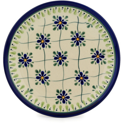 Polish Pottery 7-inch Plate | Boleslawiec Stoneware | Polmedia H9501C
