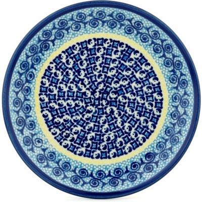 Polish Pottery 7-inch Plate | Boleslawiec Stoneware | Polmedia H0739A