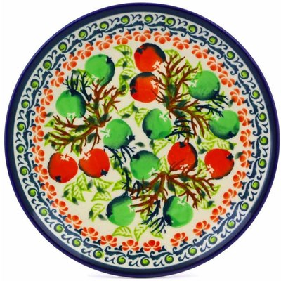 Polish Pottery 6-inch Plate | Boleslawiec Stoneware | Polmedia H8151I