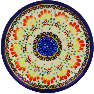 Polish Pottery 6-inch Plate | Boleslawiec Stoneware | Polmedia H8152I