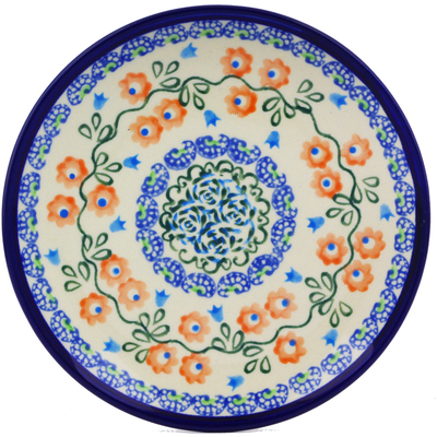 Polish Pottery 6-inch Plate | Boleslawiec Stoneware | Polmedia H8154I