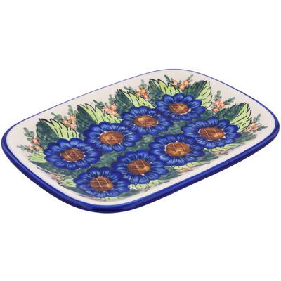 Polish Pottery 13-inch Platter | Boleslawiec Stoneware | Polmedia H7846G