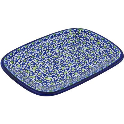 Polish Pottery 10-inch Platter | Boleslawiec Stoneware | Polmedia H0540H