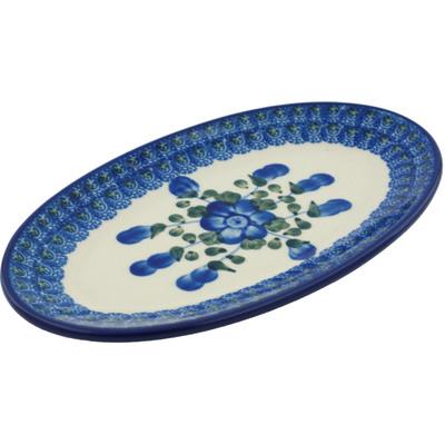 Polish Pottery 8-inch Platter | Boleslawiec Stoneware | Polmedia H4918B