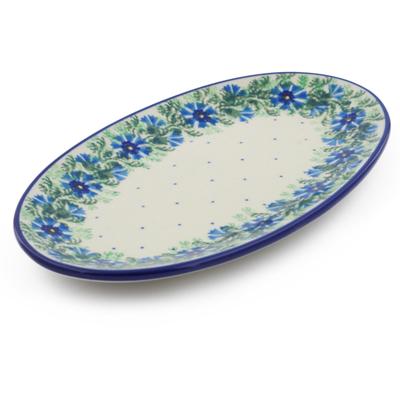 Polish Pottery 8-inch Platter   Boleslawiec Stoneware   Polmedia H1330B