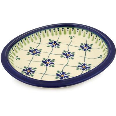 Polish Pottery 8-inch Platter | Boleslawiec Stoneware | Polmedia H6782C