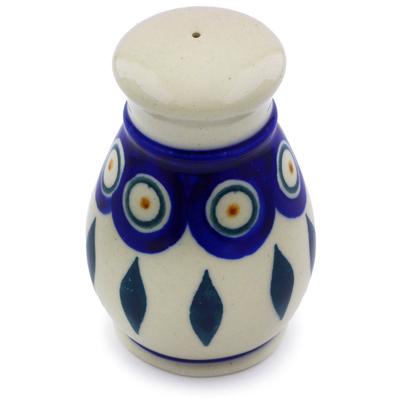 Polish Pottery 3-inch Salt Shaker | Boleslawiec Stoneware | Polmedia H7002I