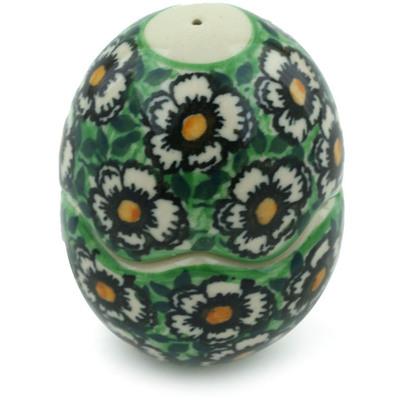 Polish Pottery 3-inch Salt and Pepper Set | Boleslawiec Stoneware | Polmedia H3360I
