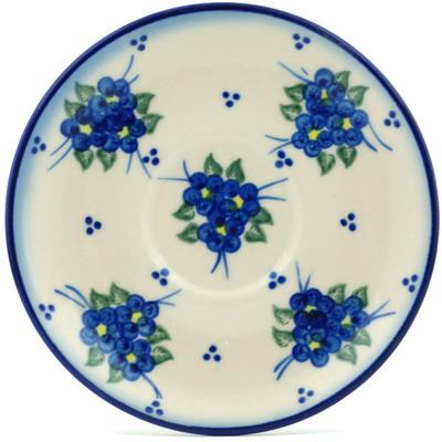 Polish Pottery 5-inch Saucer | Boleslawiec Stoneware | Polmedia H9272H