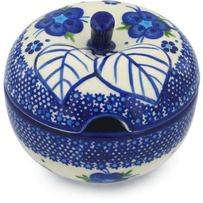 Polish Pottery 15 oz Sugar Bowl | Boleslawiec Stoneware | Polmedia H0643H
