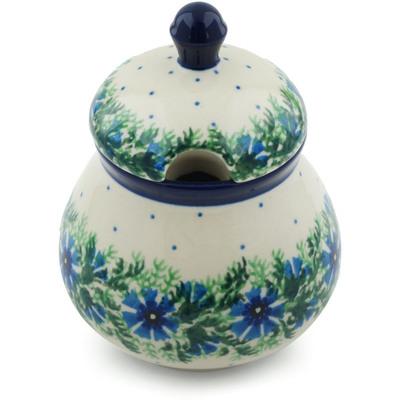 Polish Pottery 8 oz Sugar Bowl | Boleslawiec Stoneware | Polmedia H5325A