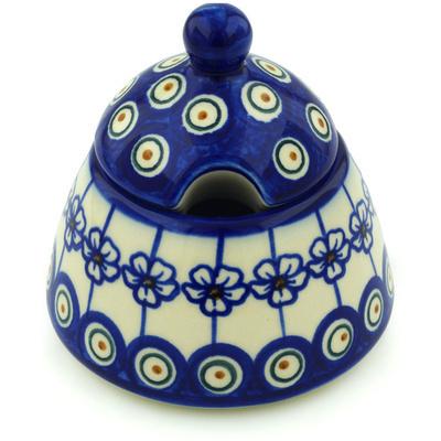 Polish Pottery 12 oz Sugar Bowl | Boleslawiec Stoneware | Polmedia H0448H