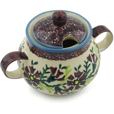 Polish Pottery 8 oz Sugar Bowl | Boleslawiec Stoneware | Polmedia H2177I