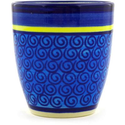 Polish Pottery 6 oz Tumbler | Boleslawiec Stoneware | Polmedia H3315D
