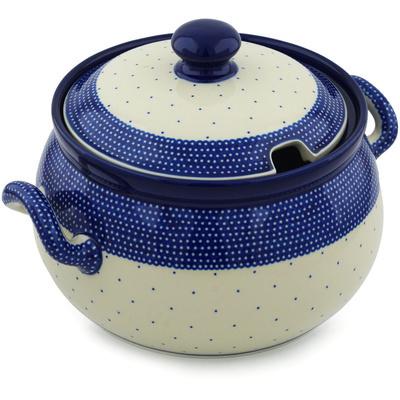 Polish Pottery 122 oz Tureen | Boleslawiec Stoneware | Polmedia H1556H
