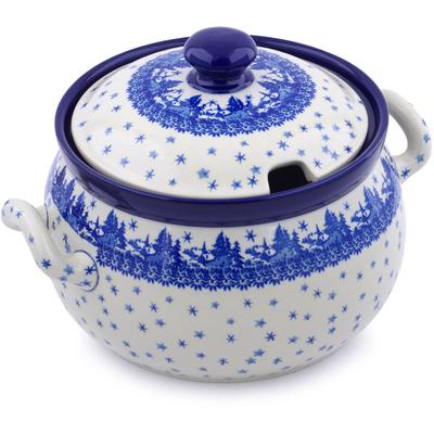Polish Pottery 122 oz Tureen | Boleslawiec Stoneware | Polmedia H0983J