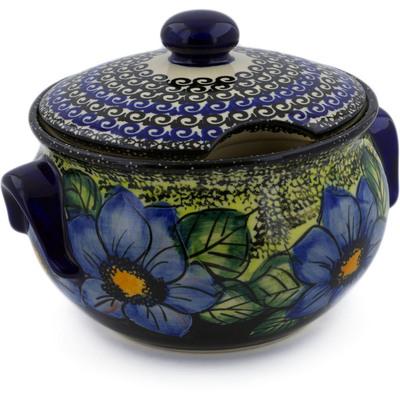 Polish Pottery 42 oz Tureen | Boleslawiec Stoneware | Polmedia H5393I