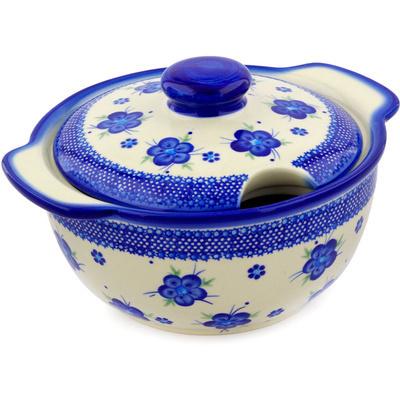 Polish Pottery 101 oz Tureen | Boleslawiec Stoneware | Polmedia H3599E