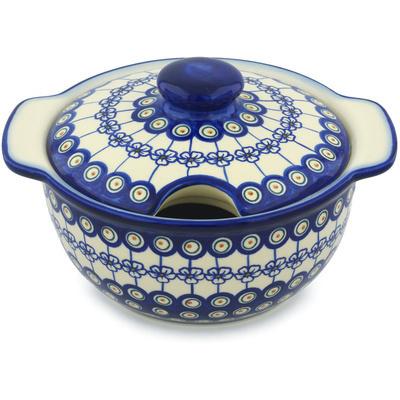 Polish Pottery 101 oz Tureen | Boleslawiec Stoneware | Polmedia H1292H