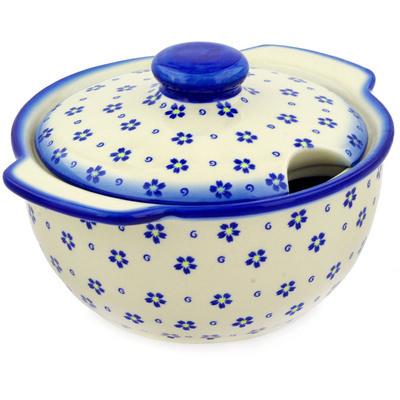 Polish Pottery 101 oz Tureen | Boleslawiec Stoneware | Polmedia H3652E