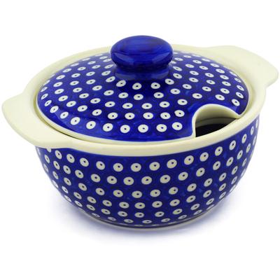 Polish Pottery 101 oz Tureen | Boleslawiec Stoneware | Polmedia H3654E