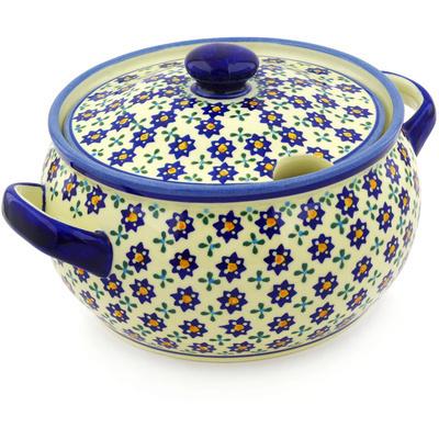 Polish Pottery 117 oz Tureen | Boleslawiec Stoneware | Polmedia H9047E