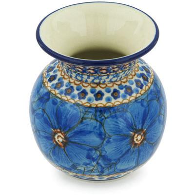 Polish Pottery 4-inch Vase | Boleslawiec Stoneware | Polmedia H8952G
