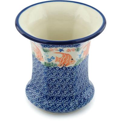 Polish Pottery 5-inch Vase | Boleslawiec Stoneware | Polmedia H3084C