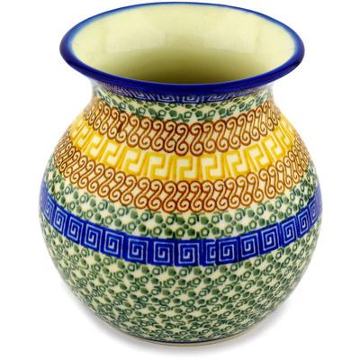 Polish Pottery 6-inch Vase   Boleslawiec Stoneware   Polmedia H9938C