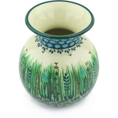 Polish Pottery 5-inch Vase | Boleslawiec Stoneware | Polmedia H3311G